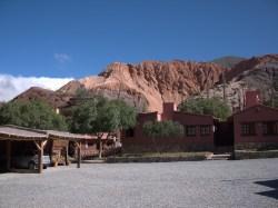 Our hotel in Purmamarca