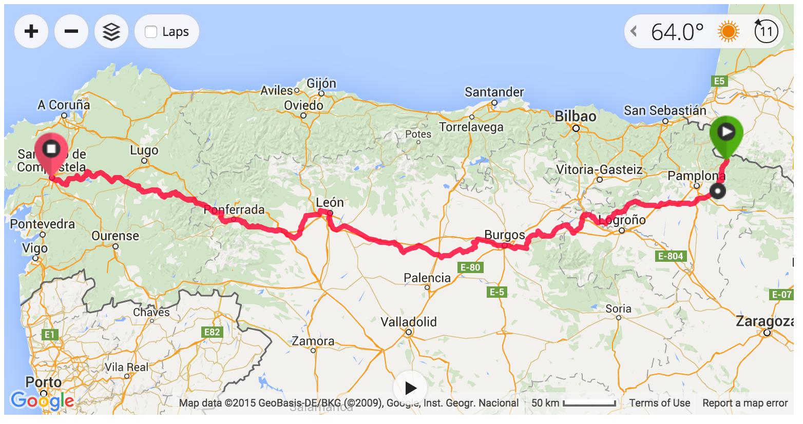 Cycling the Camino de Santiago | Rambling Roads on
